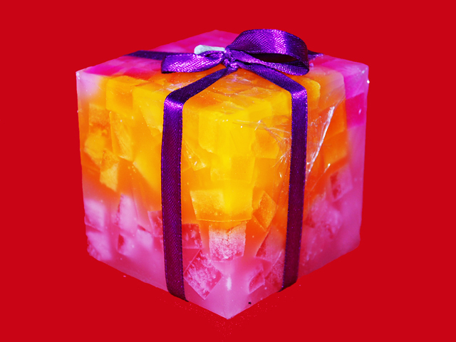 Cube Candle